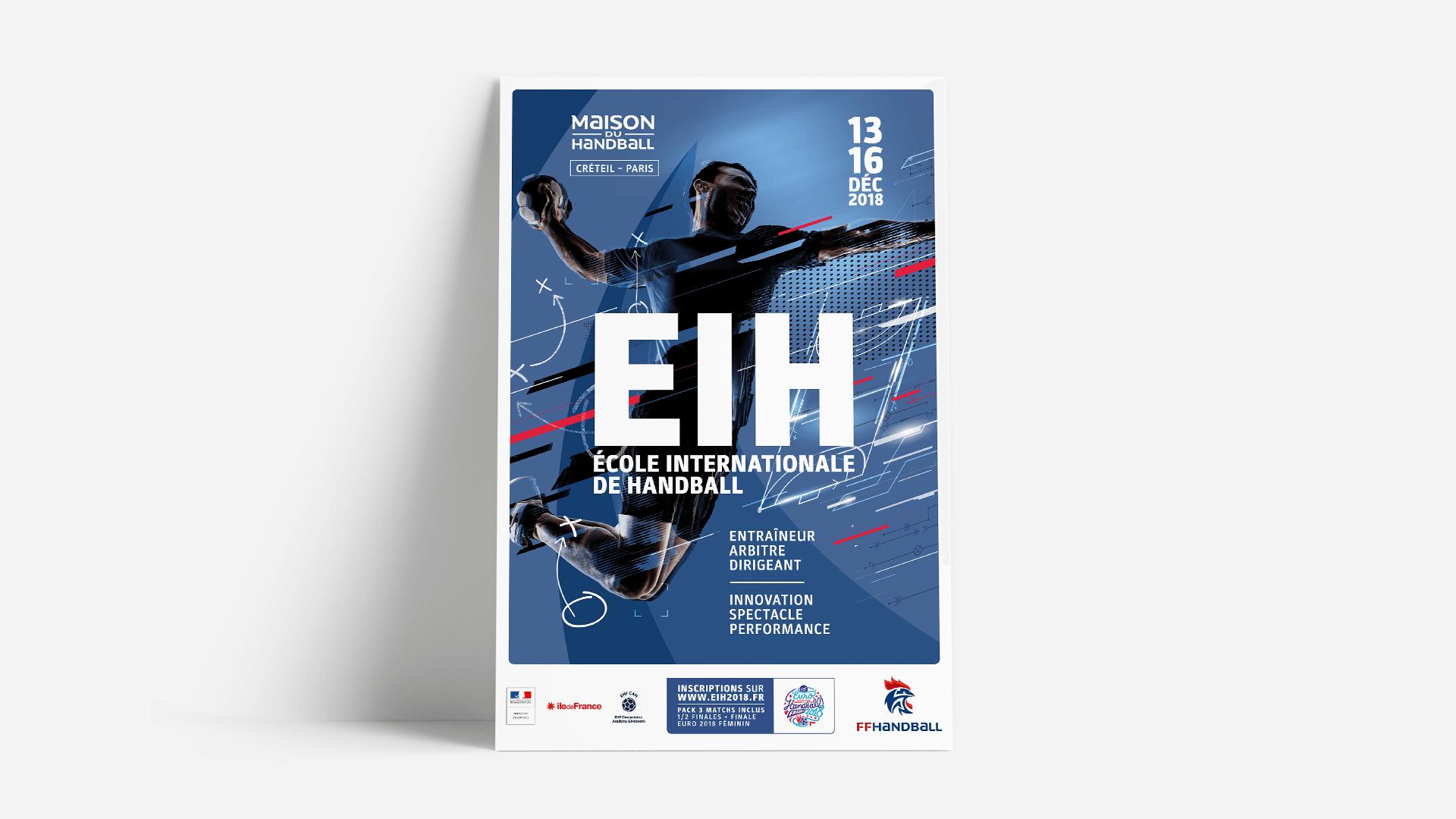 Affiche école Internationale de Handball
