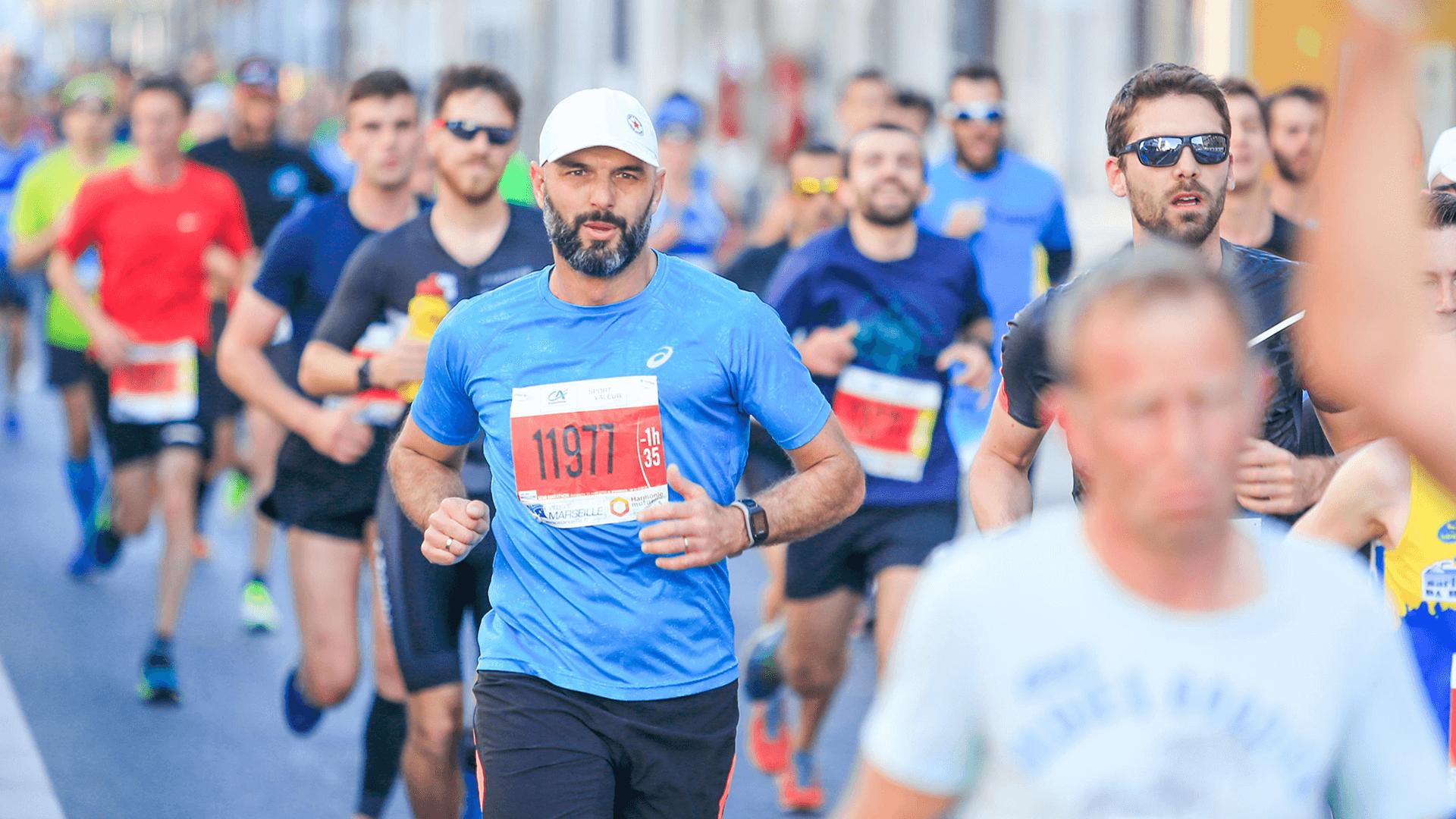 des participants d'un Run In by ASO
