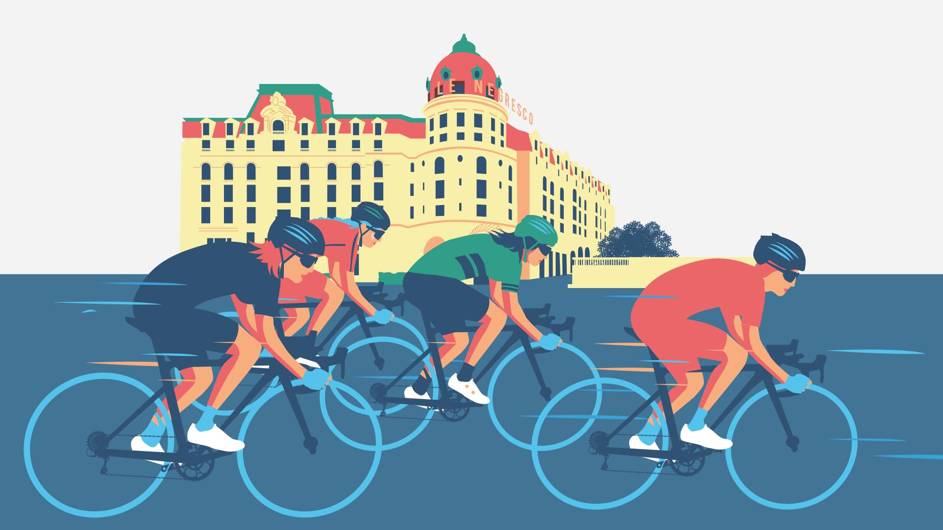illustration de l'affiche La Course By ASO
