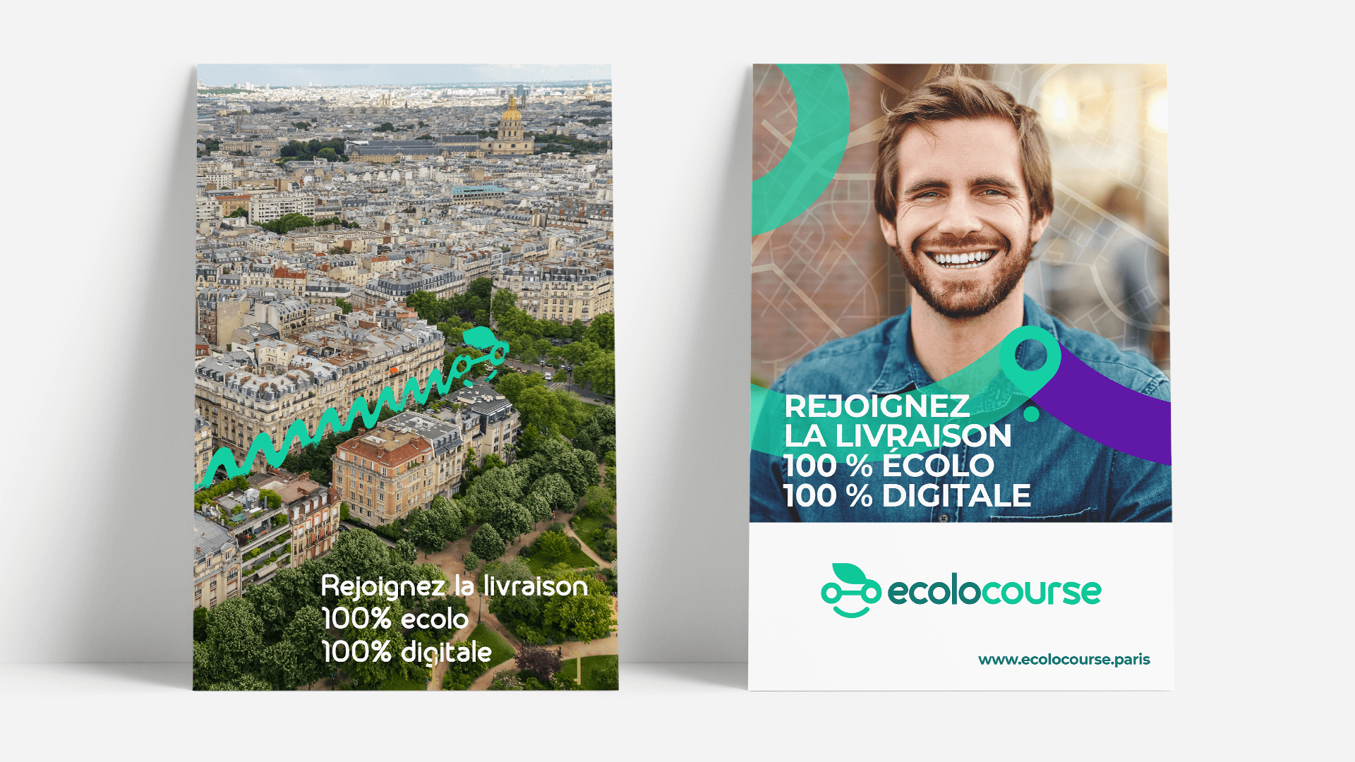 Affiches Ecolocourse