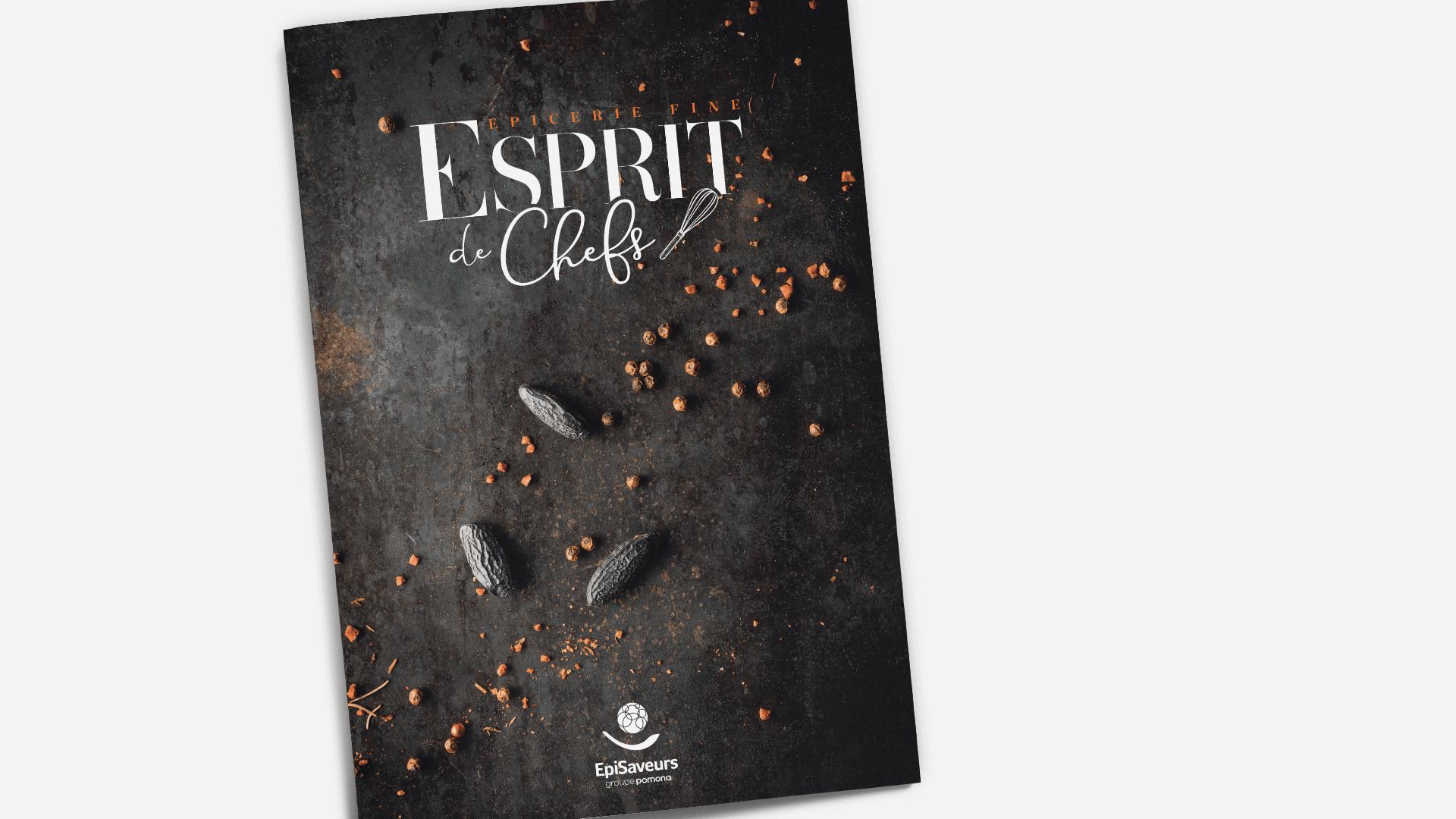 couverture du catalogue Esprit de chefs d'EpiSaveurs