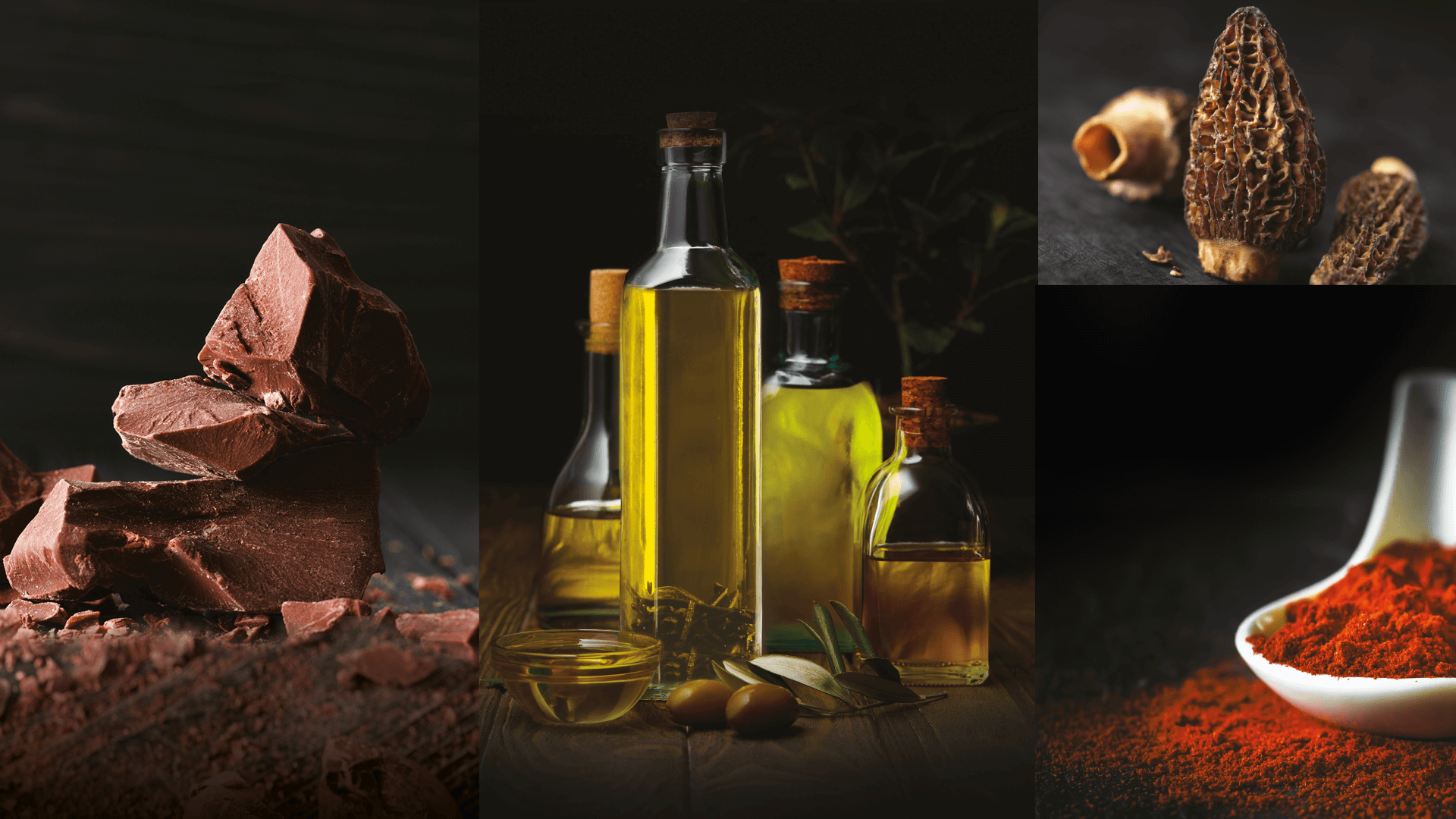 différents visuels d'ambiances du catalogue Esprits de Chefs d'EpiSaveurs