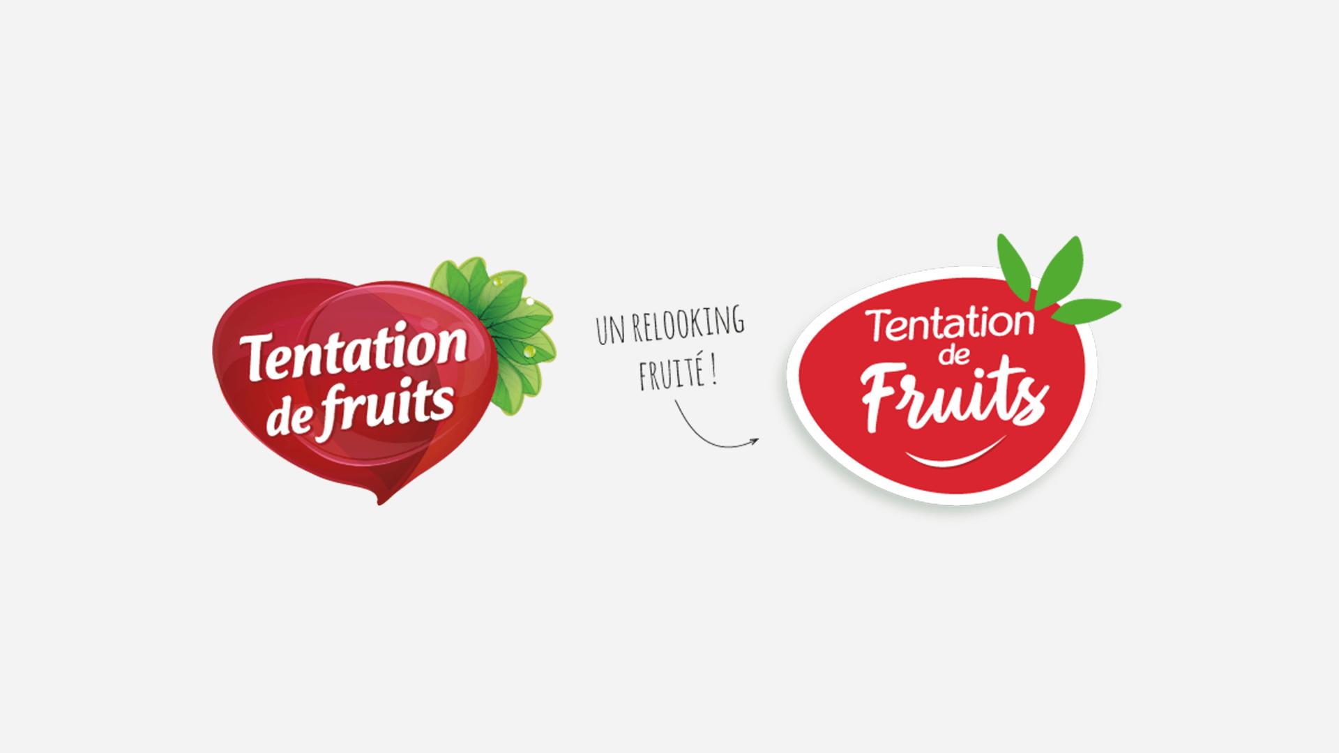 logos avant après Tentation de Fruits de Fructa